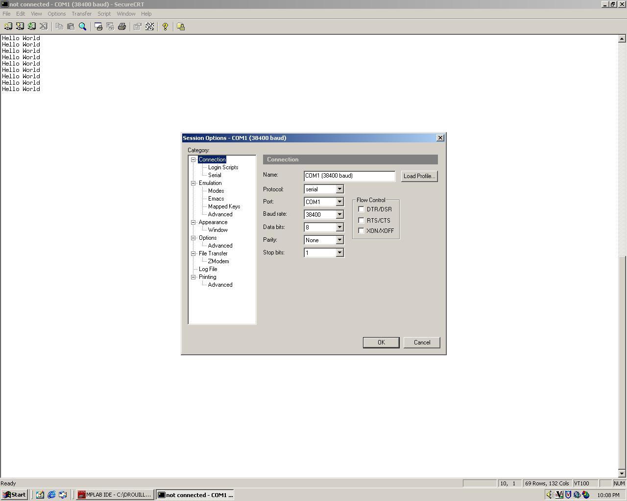 MAS 863 - Micro-Controller Programming