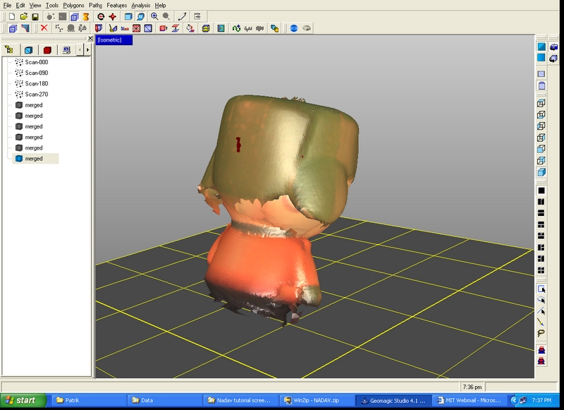 Assignment #5: 3D Scanning and Printing
