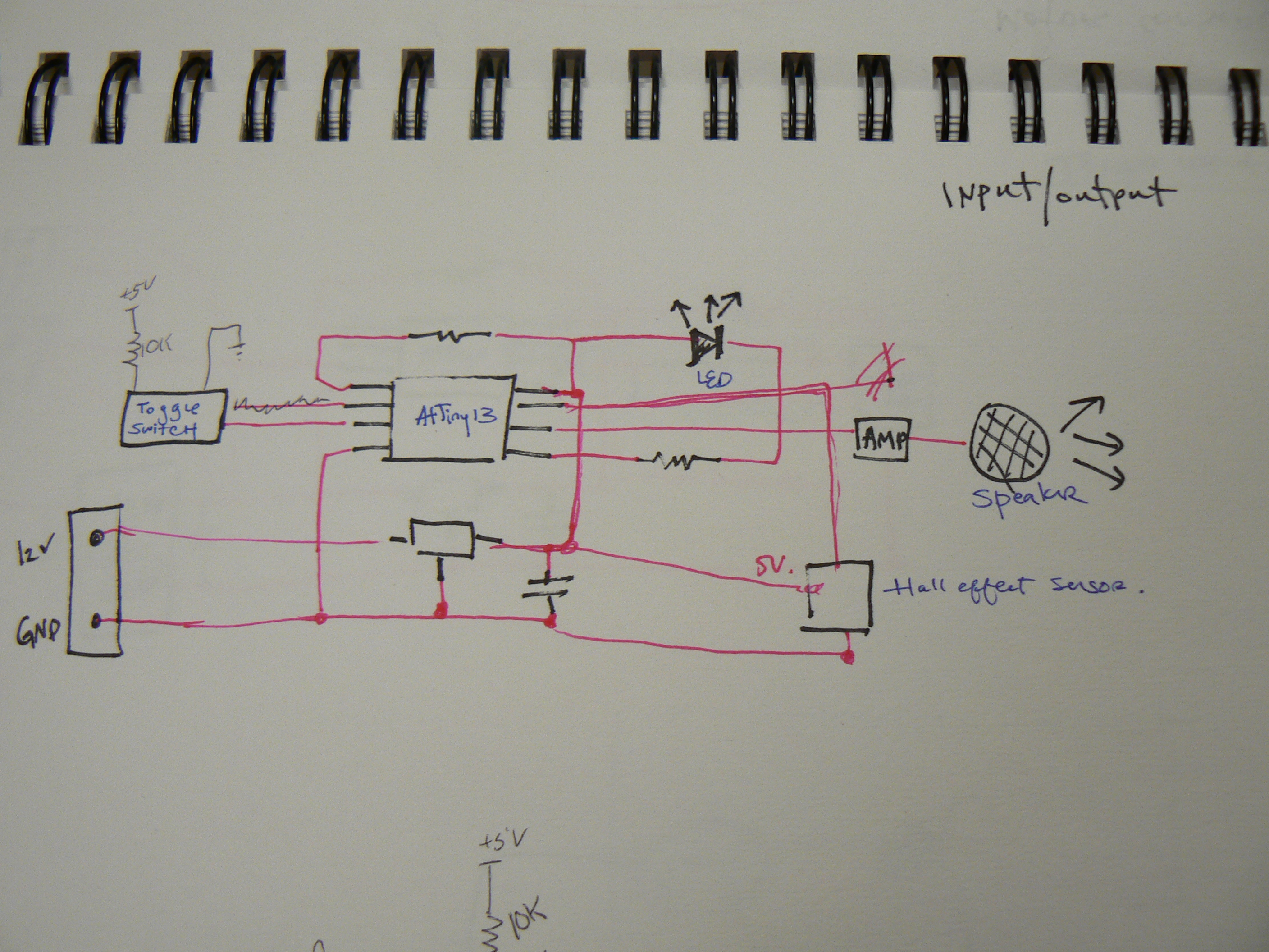 Final Project Metronome Circuit Below Are Sketches Of What The Board Will Eventually Look Like