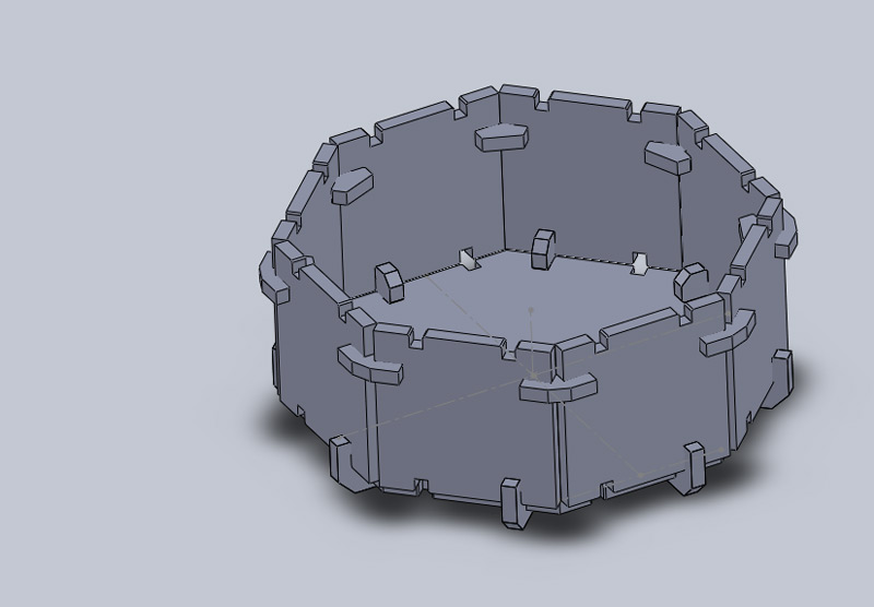 how to make a dome cut in solidworks