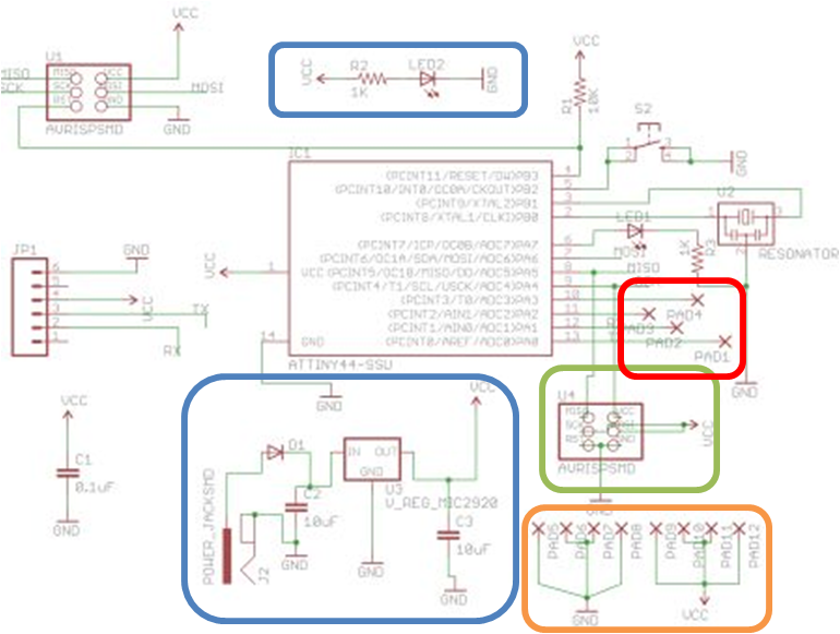 Design, Fabrication, and Programming of a Microcontroller