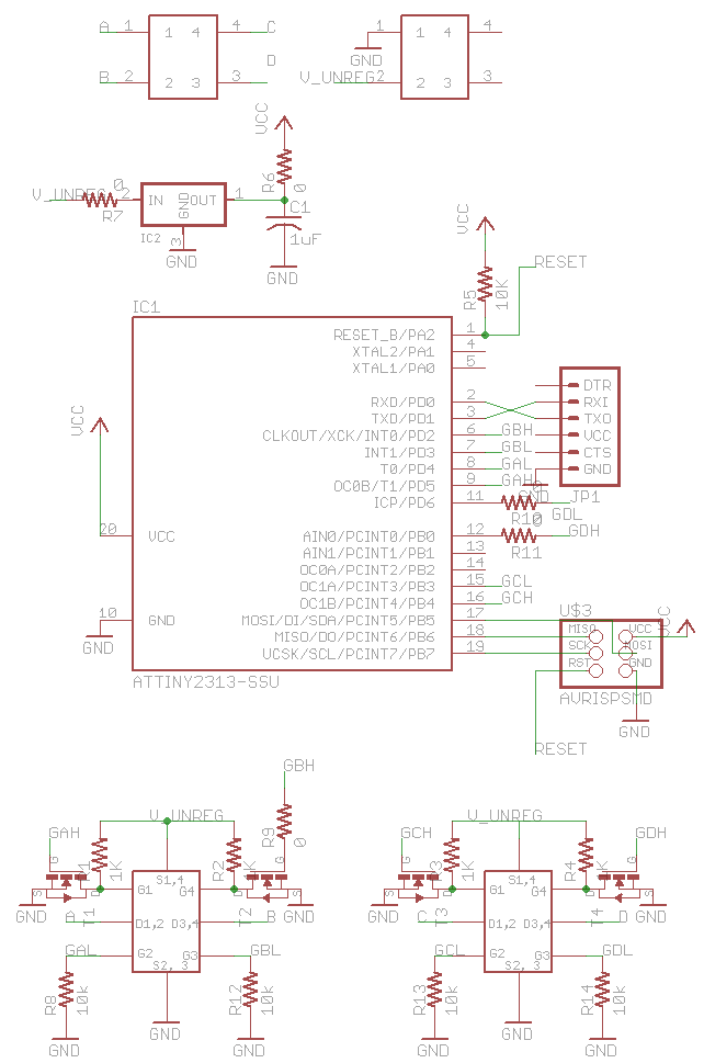 schematic electronic speed controller Brushless DC Motor Theory at edmiracle.co