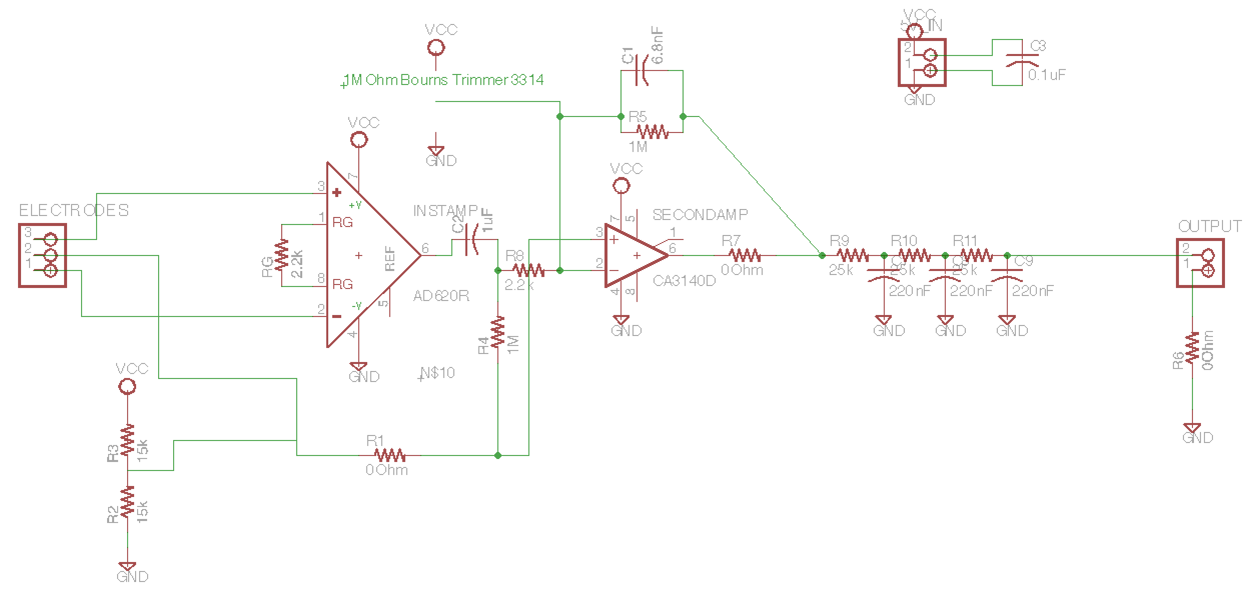Ecg Circuit Diagram Using Ad620 on diy induction heating circuit diagram