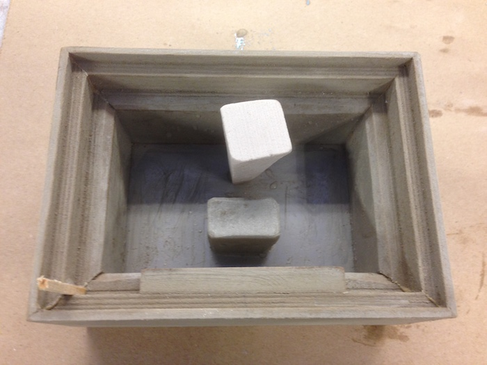 The finished top mold
