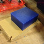 3.5 x 3 x 1.5 in. wax block