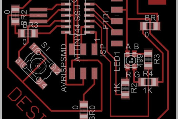 push button circuit