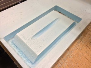 Custom Bike Rack Milled Foam 2