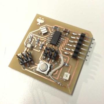 Servo Output Device Circuit