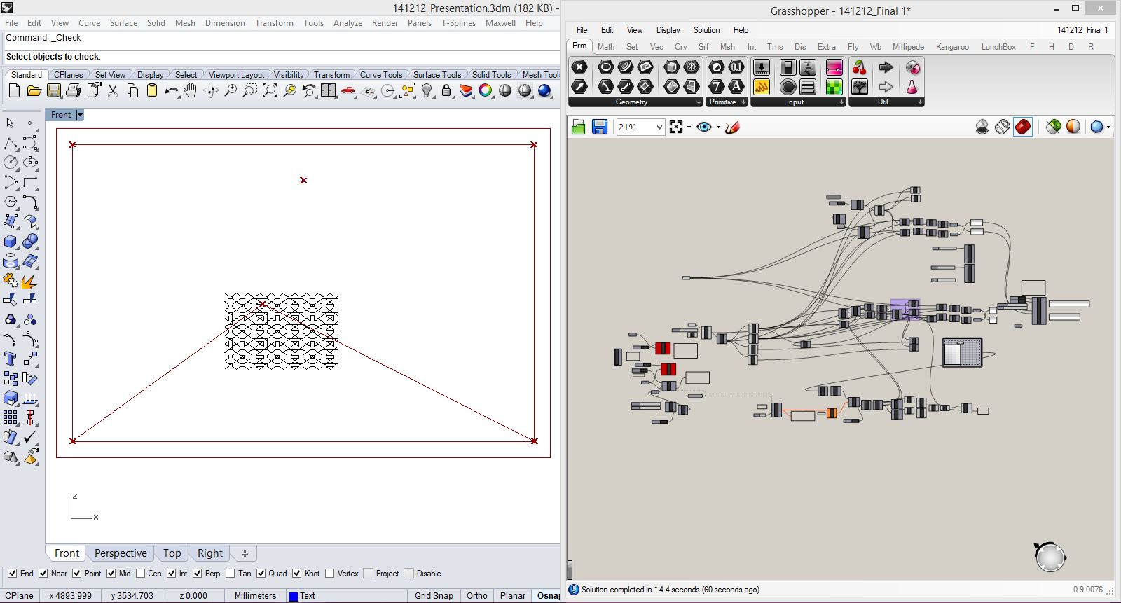 Nathan Melenbrink How To Make Almost Anything 5 Wire Regulator Wiring Diagram For Rhino This Screen Shot Shows The Input Pattern In Workspace And Grasshopper Definition Parsing Those Curves Turning Them Into Stepper Motor