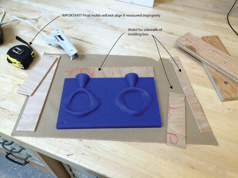 Creating a two part mold from 3D Print](id:anchor1)