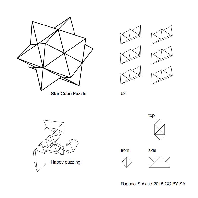 3d Diamond Puzzle Instructions