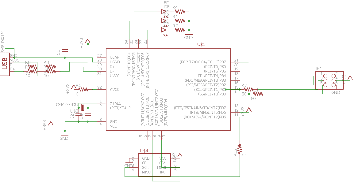 final project wireless microphone schematic of my final board