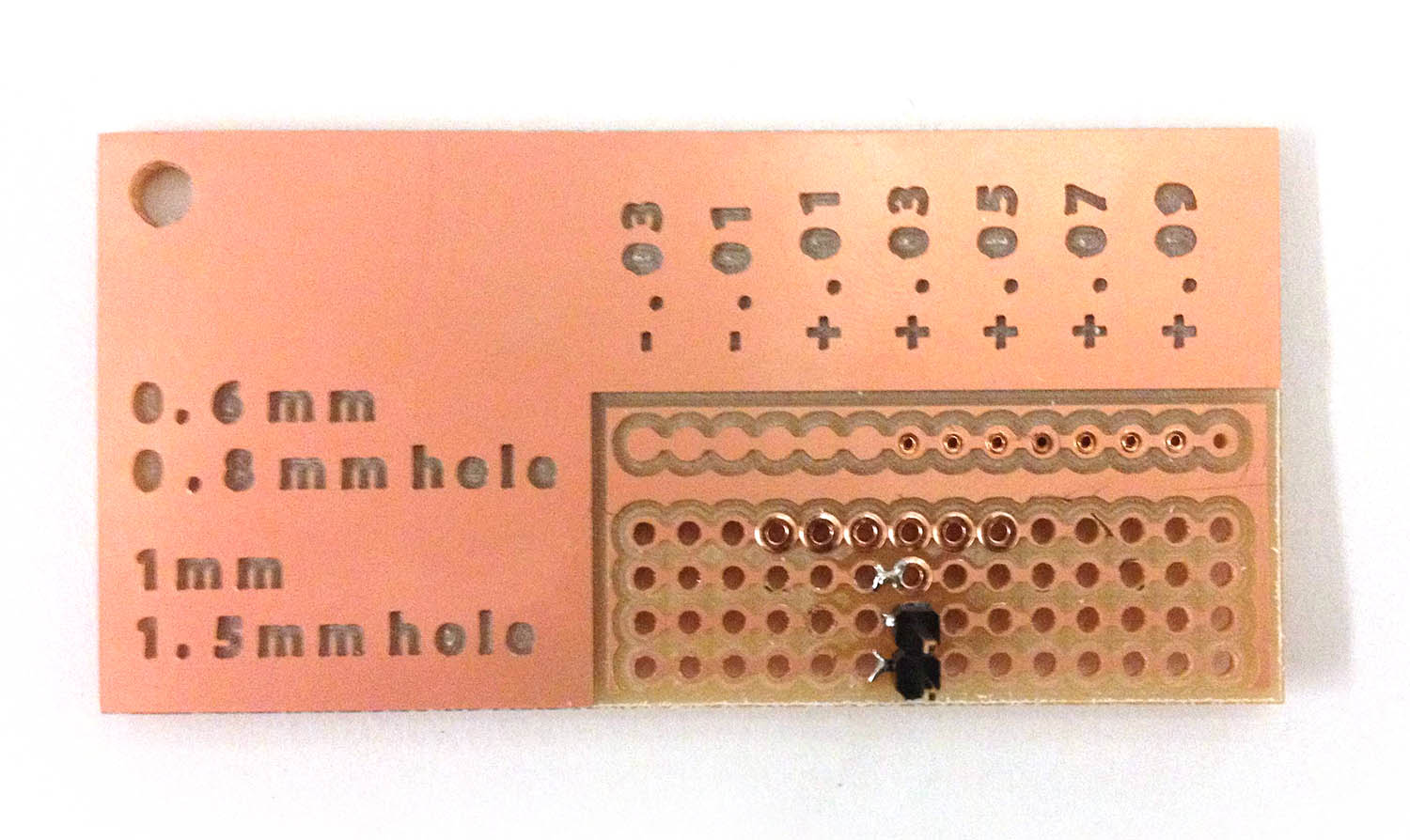 Pcb Rivets Circuit Board The Finished Boards For 06mm Best Hole Sizes Fell In Range Diameter 083 089mm 083mm To 086mm Gave A Snugger Pressfit Up Still