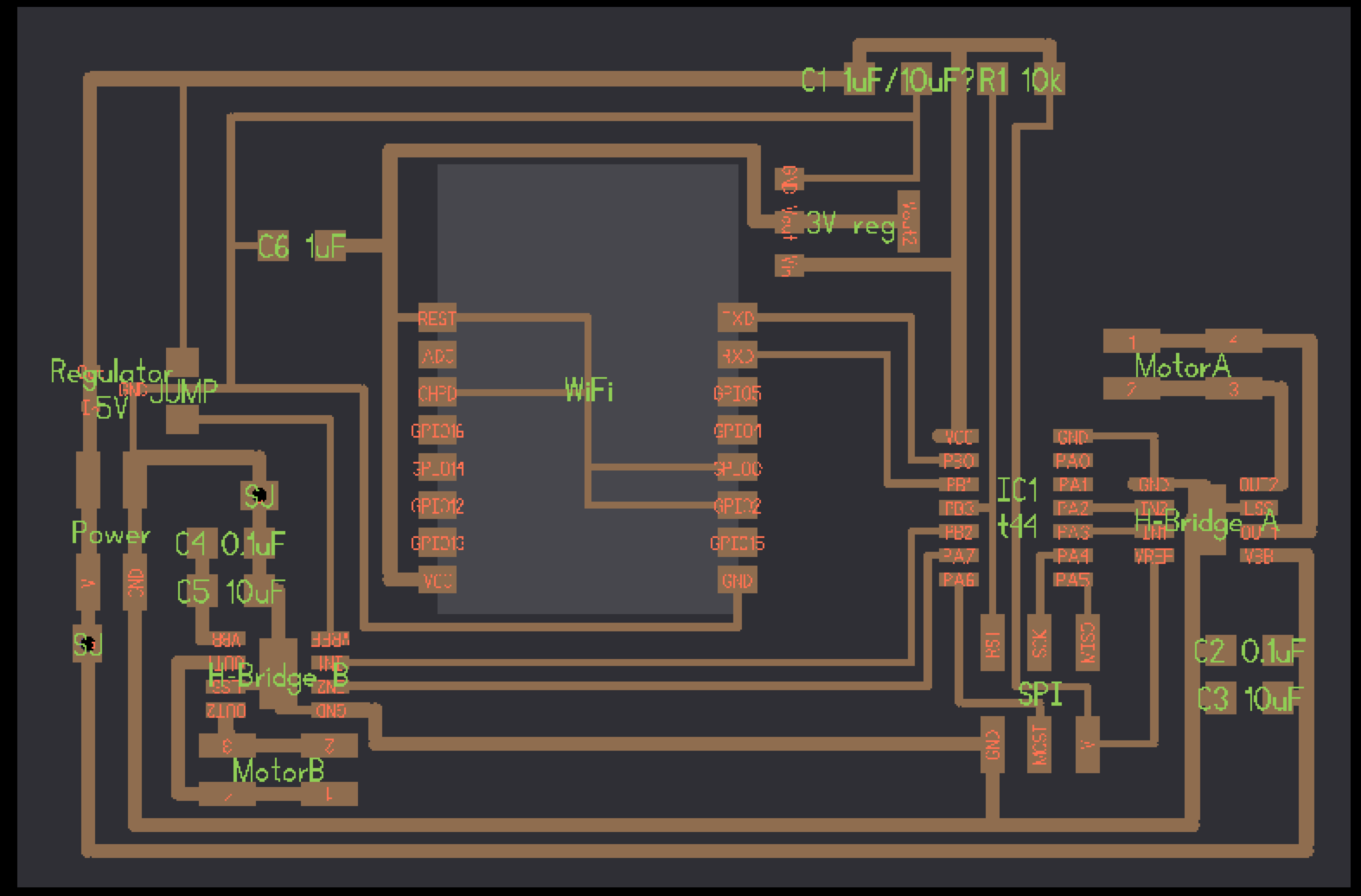 Copplestone As Directed In The Diagram Circuit Requires A Couple Of 1uf Esp8266 Is 33v Device Which Means That Addition To Its Power Being Rx And Tx Lines Need Work Between Neils Reference Design