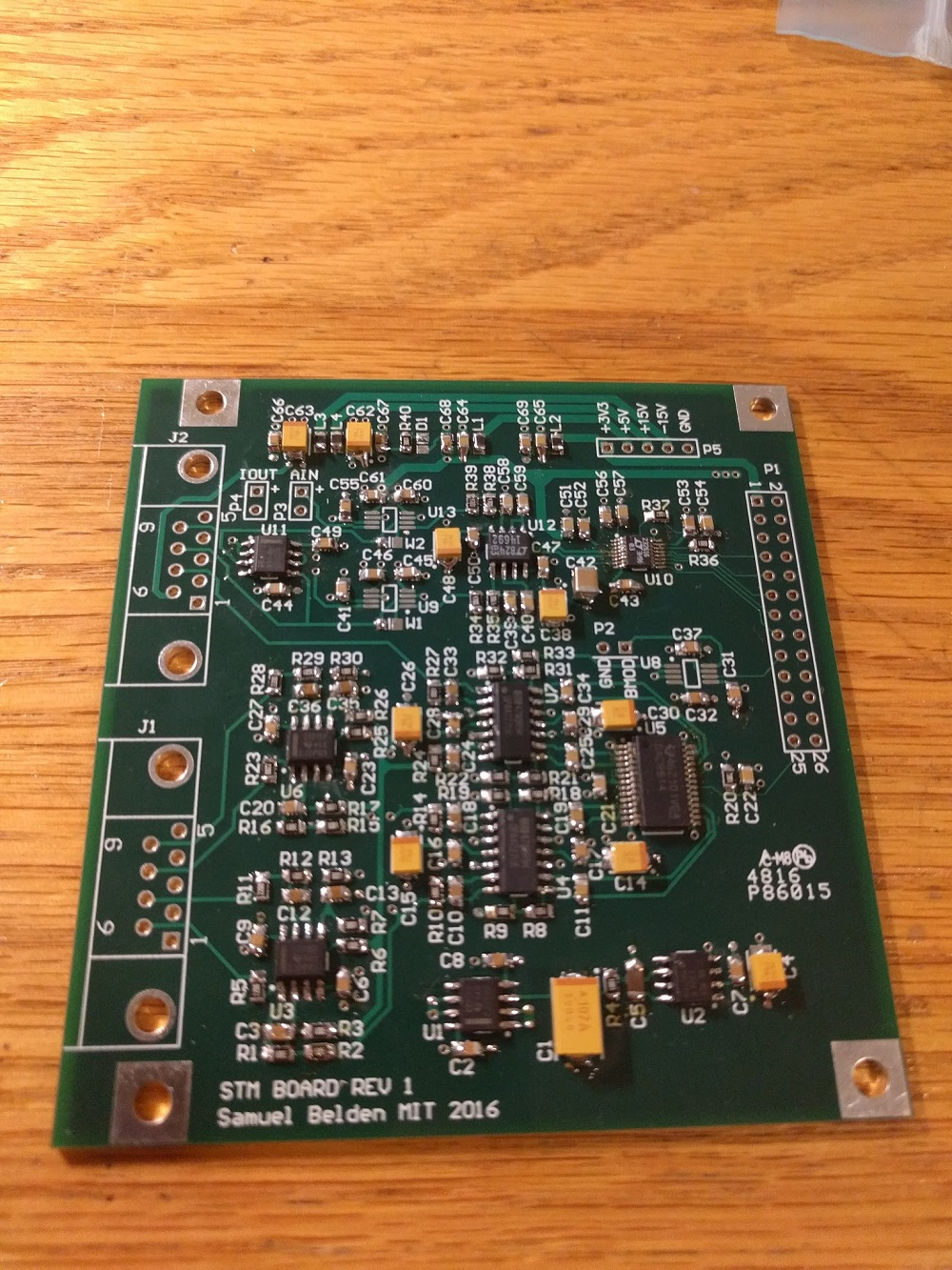 Samuel Belden How To Make Almost Anything Circuit Board Articles Rush Pcb Blog High Current Designing Operation Of The Stm And Some Sample Scans