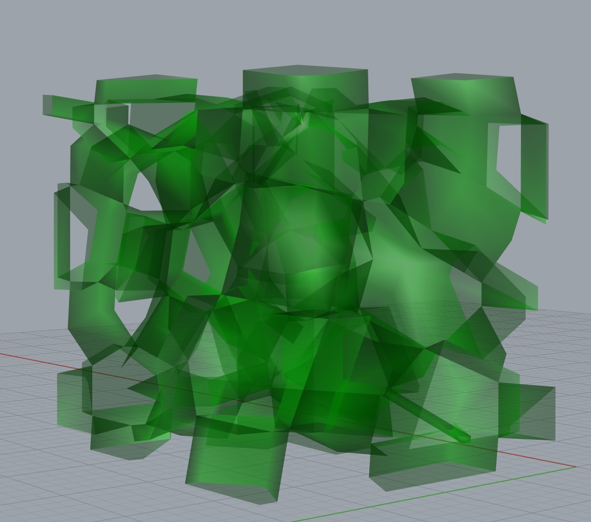 Samuel Belden How To Make Almost Anything Colorful Geometric Shapes Circuit Board Pattern Square Wall Clock Above General Process Workflow In Rhino Going From An Empty Box Brep A 3d Printable Voronoi Tessellated Shape