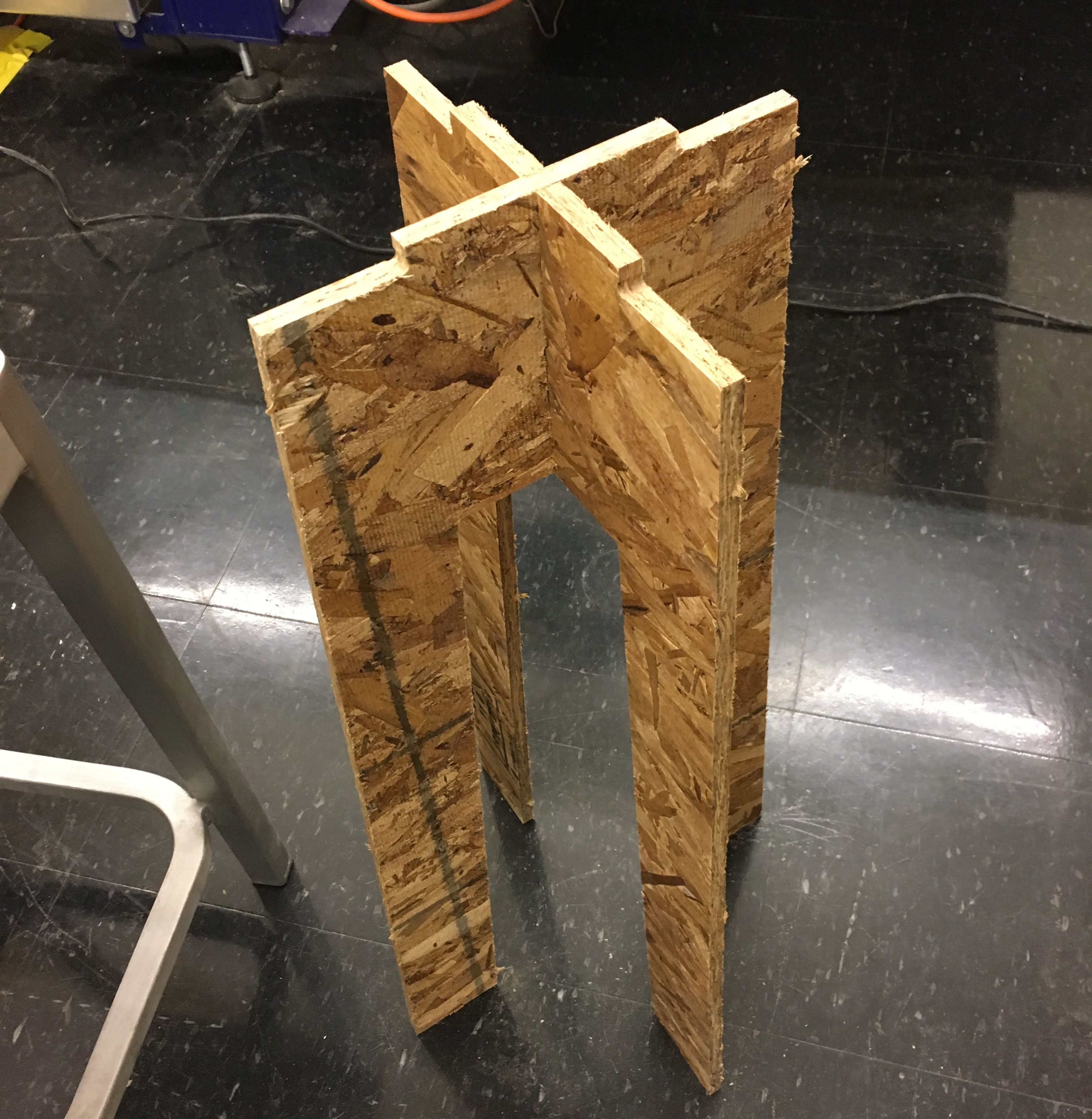 Stool standing side