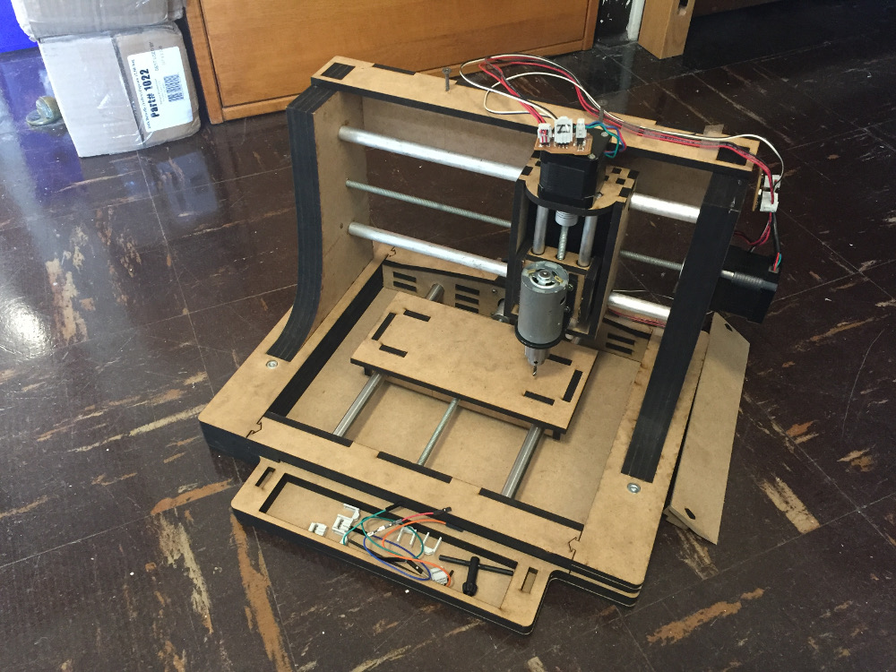 Final Project: Simple Low-Budget CNC Mill