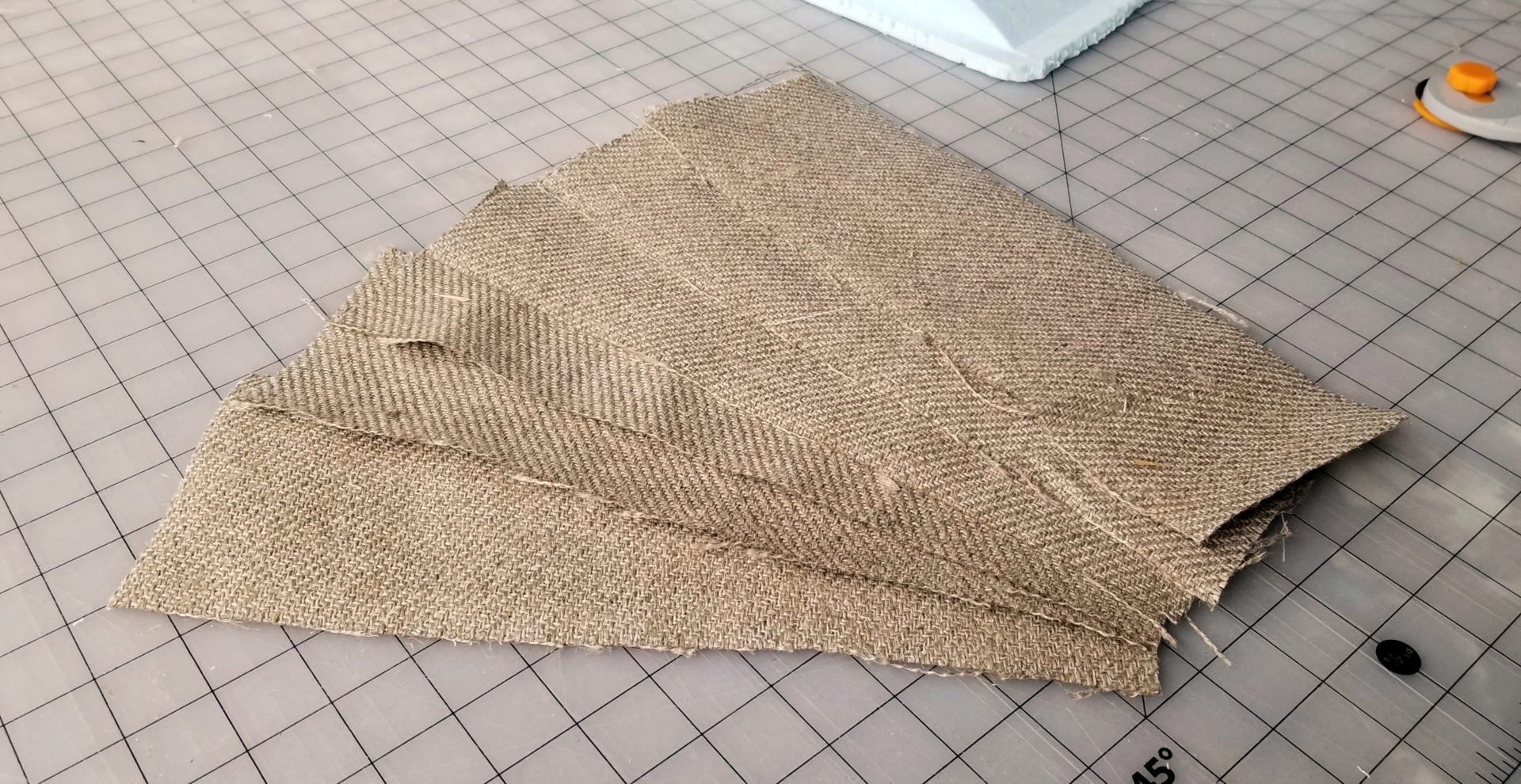 Fancy burlap