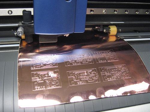 How to make vinyl cut PCBs