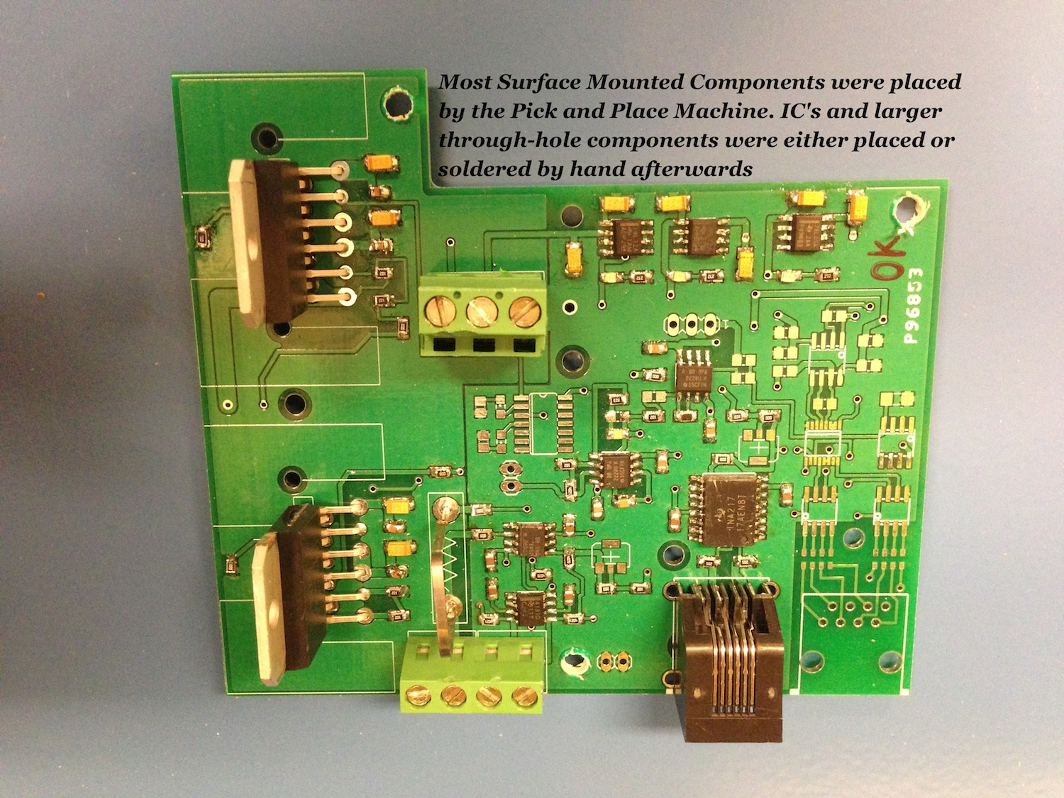 Pick And Place Documentation By Recycling Circuit Board Just You Need To The With Short Circuits Occurring Very Infrequently Safety Because Most Solder Paste Contains Lead Its A Good Idea Wash Your Hands After Handling It