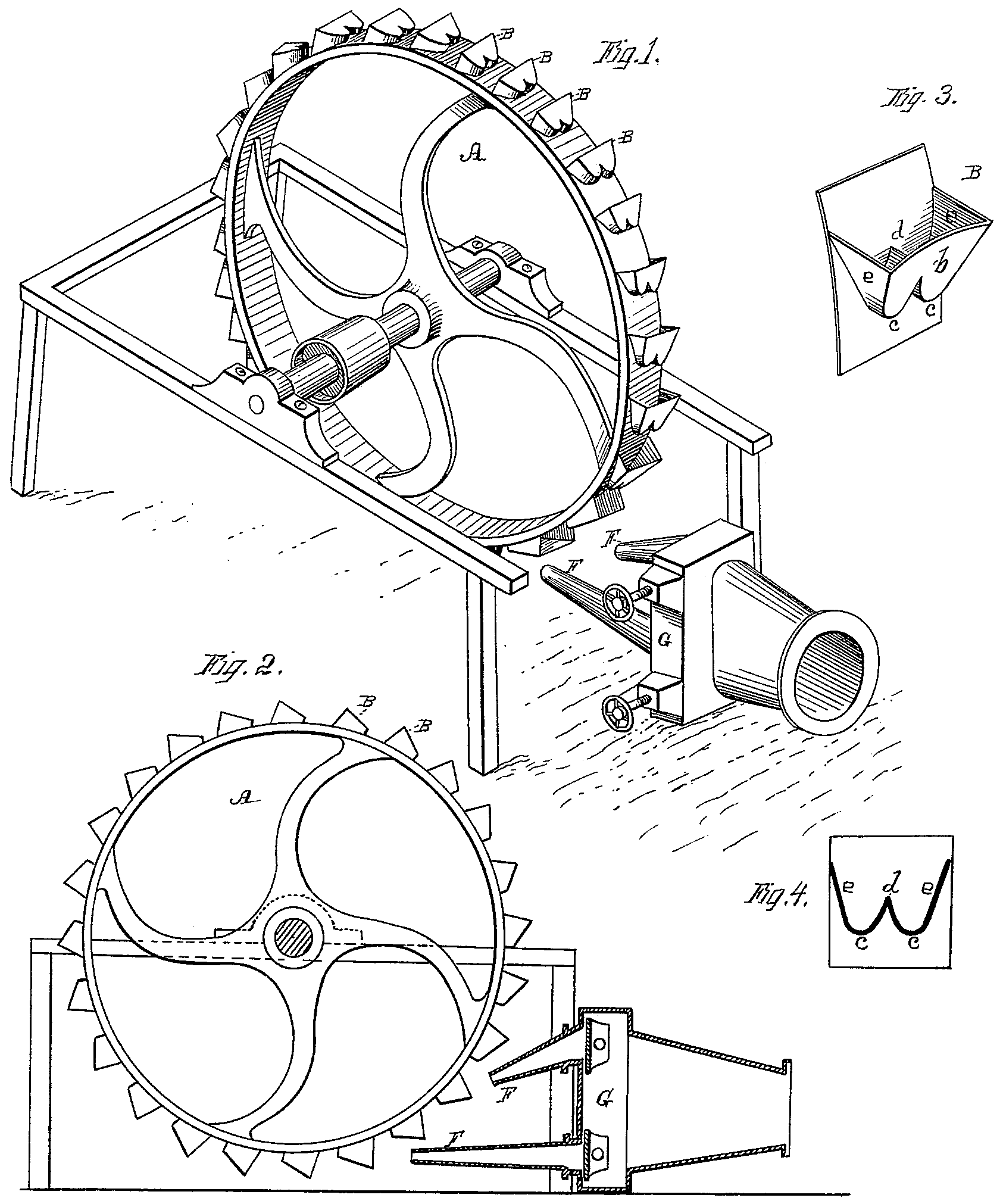 Final Project Robot Cd Rom Modification Electronics Projects Circuits Figure 4 Pelton Turbine Patent From 1880 Source Wikipedia