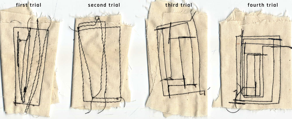 I Was Way Faster Compare To Sewing By Hand Before Using Velcro And Elastic Band Made Some Trials On A S Textile