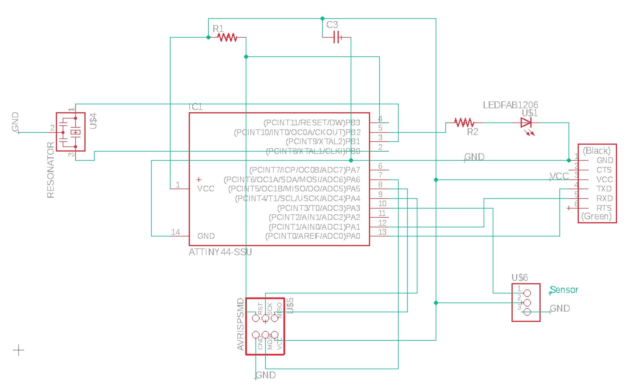 Final Project Attiny2313 Based Lan Cable Tester Schematic This Is The Third Assignment Requiring Work On Sr20 Mill And With Each One Setup Running Of Becomes Easier Mods Software Provided